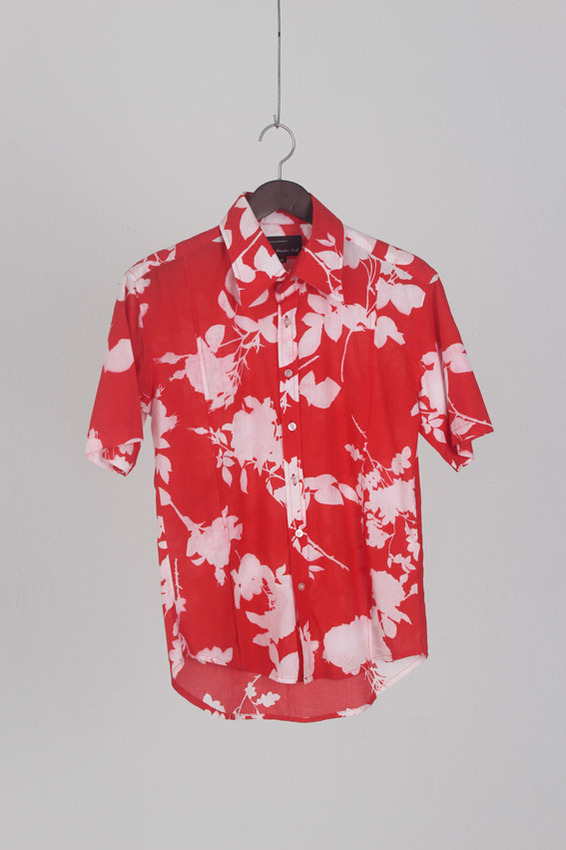 Wooden Doll Aloha Shirt