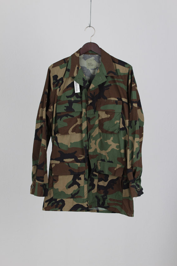 BDU Woodland Camouflage coat (S-X Long)