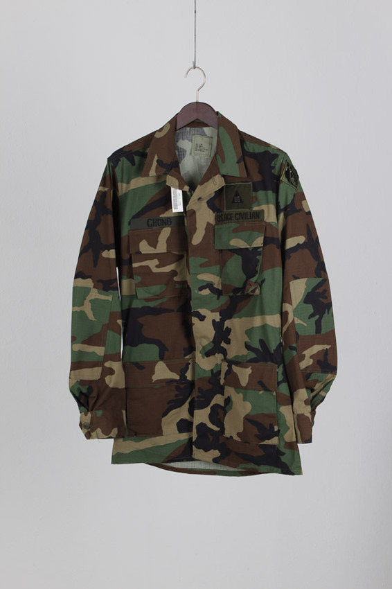 BDU Woodland Camouflage coat (S- X Long)