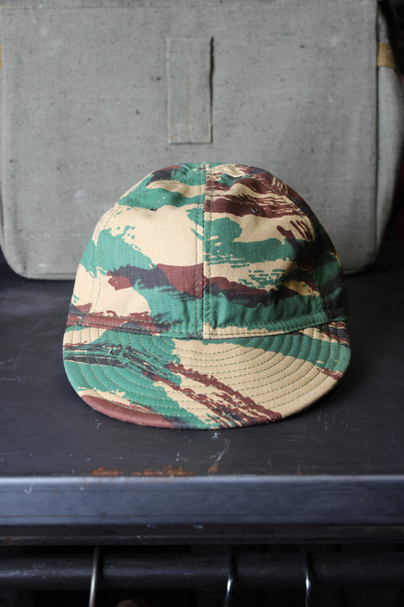 Hill-Side Camoflage Selvedge Panama Ball Cap (M)