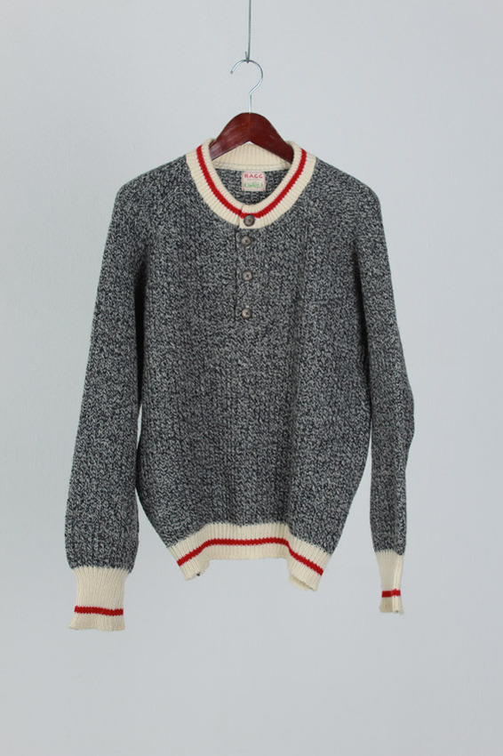 Ragg Wool Sweater (L)