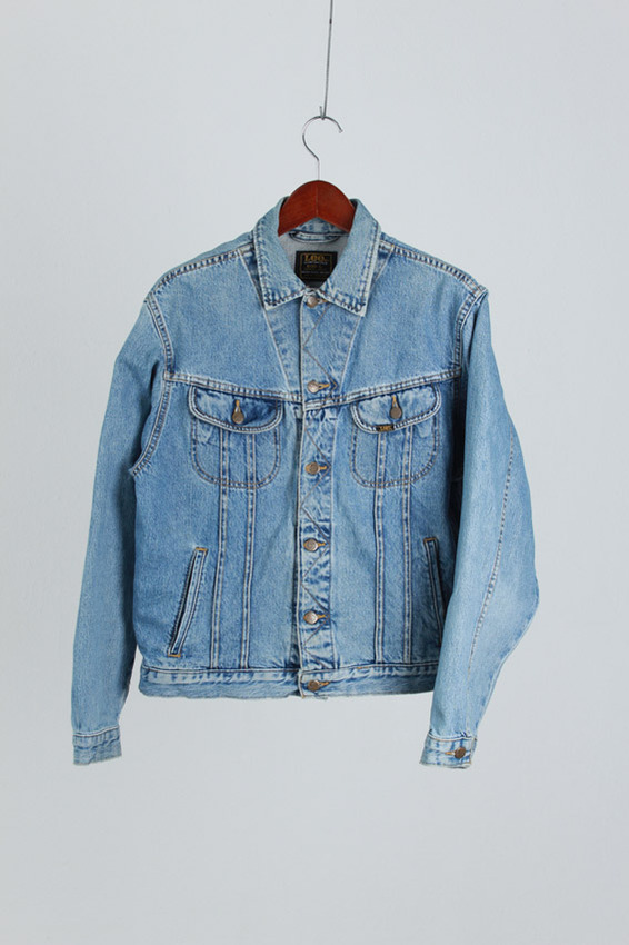 80's Lee Riders Trucker Jacket (L)