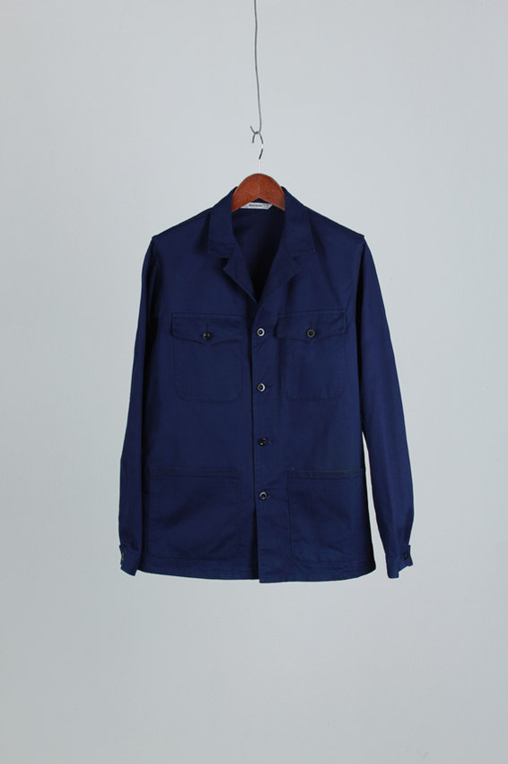 French Cotton Work Jacket