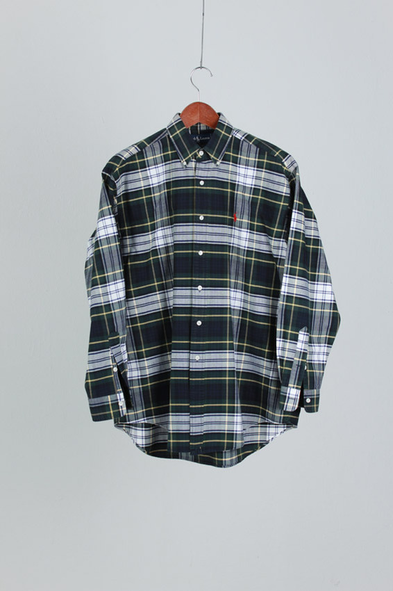 Polo RalphLauren Check Shirt (M)