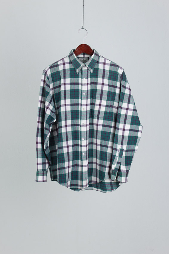 L.L.Bean Check Shirt (L)