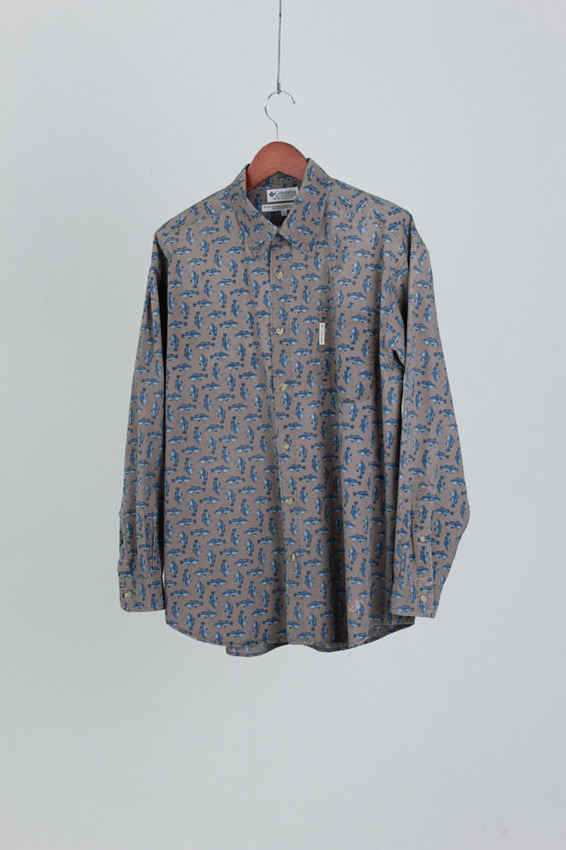 COLUMBIA Fish Shirt (XL)