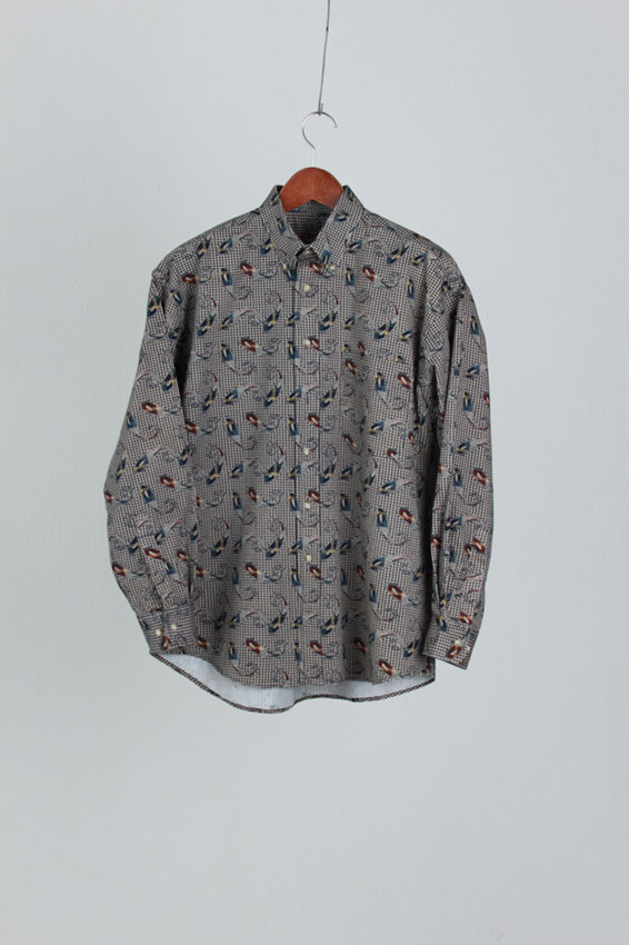 Ivy Crew Check Shirt (M)