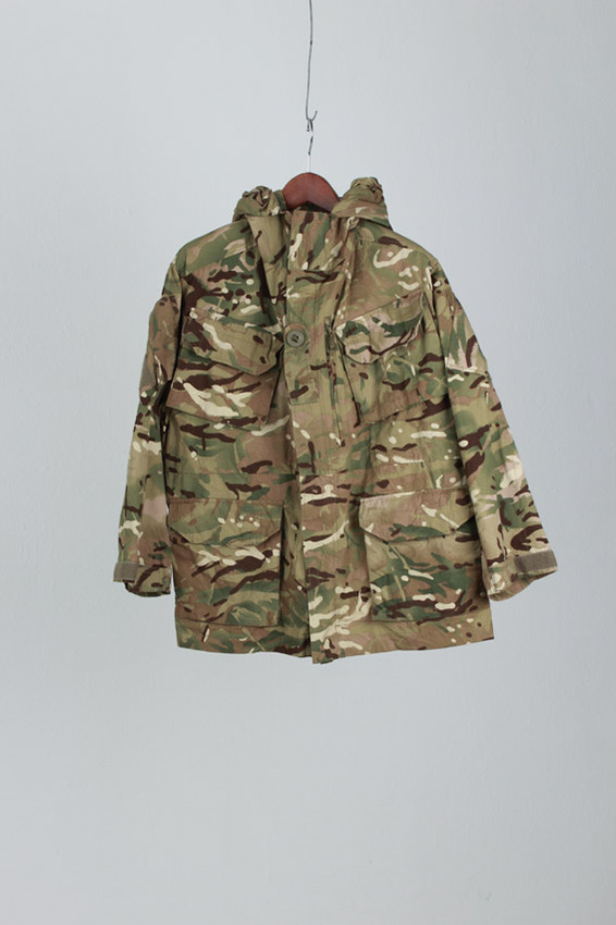 SMOCK COMBAT WINDPROOF CAMOUFAGE jk