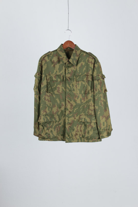 Russia Military Camo Field Jacket