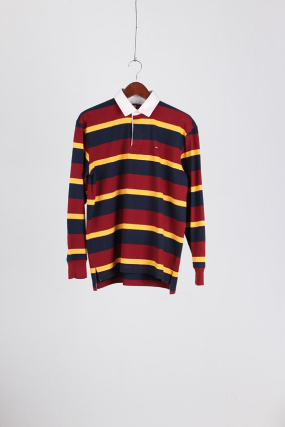 Tommy Hilfiger Rugby PK Shirt (M)