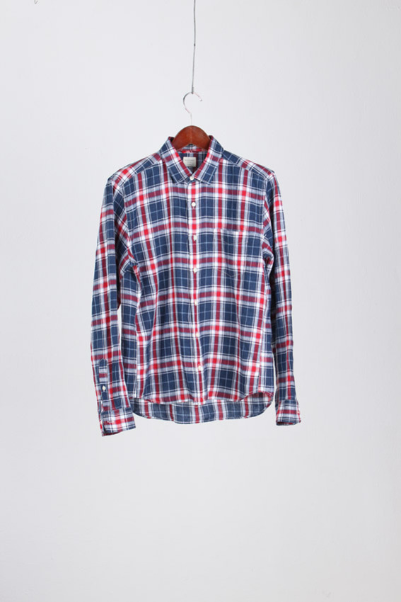 BACK MUMBER Linen Shirt (L)
