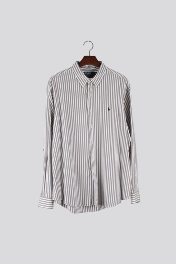 Polo Ralph Lauren Stripe Botton down Shirts (XXL)