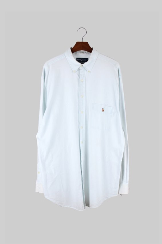 Ralph Lauren Oxford Botton down Shirts (XLT)