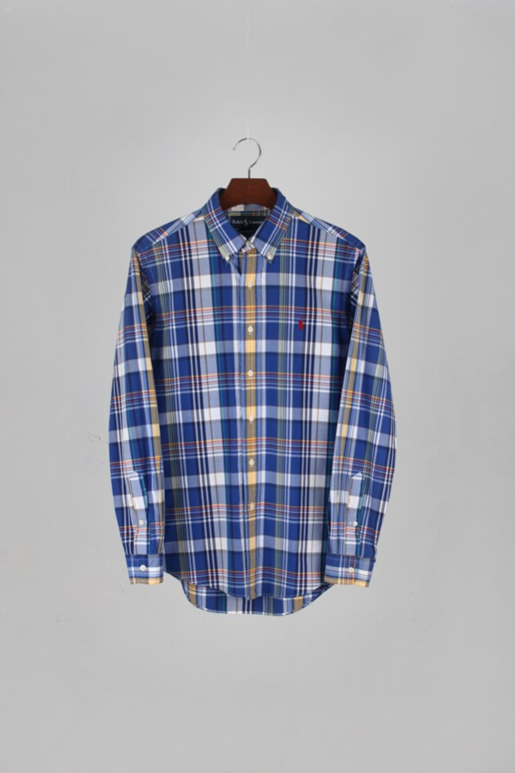 Ralph Lauren Button down Check Shirts (M)